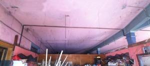 drop ceiling removed week 5